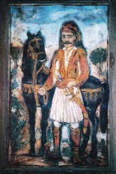 Διάκος Greek History, Naive Art, Outsider Art, Folk Art, Dance, Artist, Painting, Animals, People