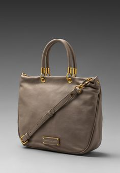 MARC BY MARC JACOBS Too Hot to Handle Mini Shopper in Cement
