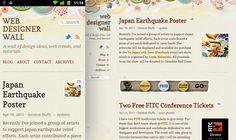 Web Designer Wall  Media Queries+HTML5