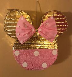 Minnie Mouse piñata de arco