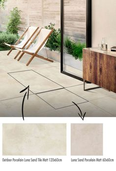 Exterior Tiles Beautiful Outdoor Tiles for Gardens Indoor Outdoor Tiles Trends Ireland. Whether your outdoor space is major or minuscule, there are ways of making the most of it. There is a clever trick that interior designers use to make any room look bigger. Using the same flooring throughout a home is a great way to create visual length and depth. See below a tile we stock here at Tile Merchant which gives you the best of both worlds. #outdoortiles #tiles #interiordesign #tilesireland Outdoor Tiles, Indoor Outdoor, Exterior Tiles, Kitchen Tiles, Patio, Colours, Flooring, Interior Design, Ireland