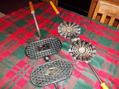 my mom's old pizzelle irons