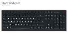 With each possible space being sold out to brands to advertise their names and products, (like Google for g) this Brand Computer Keyboard would make money through advertising.