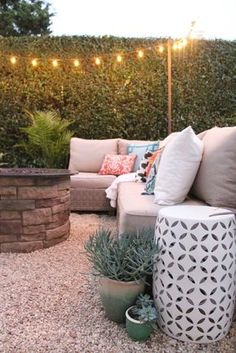 Easy-Peasy DIY outdoor patio! A quick, weekend project to increase your functional living space!