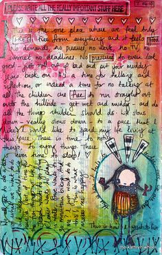 Art Journal - I want to live like this | Flickr - Photo Sharing!