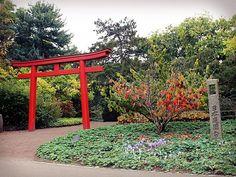 Der Eingang zum Japanischen Garten
