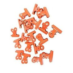 Metal Bulldog Clips Binders Paper Documents Grip Clamps Office Organizer 20 Pack #OfficeSupplies