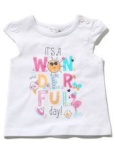 Summer slogan t-shirt - Slogan T Shirt - Ideas of Slogan T Shirt - Summer slogan t-shirt Summer Slogans, Outfits For Teens, Boy Outfits, Kids Clothes Sale, Teens Clothes, Painted Clothes, Girls Blouse, Slogan Tee, Kids Wear
