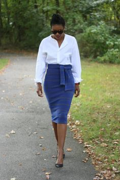 DIY the perfect pencil skirt pt2