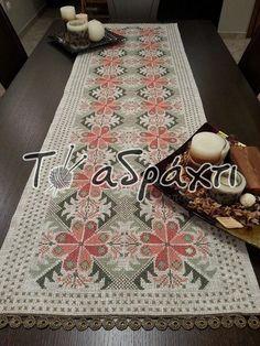 Cross Stitch Patterns, Bohemian Rug, Embroidery, Rugs, Crochet, Handmade, Decor, Cross Stitch Rose, Straight Stitch