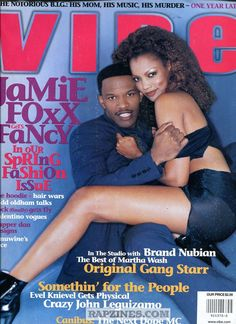 Vibe Magazine Cover Mariah Carey 1996 | Vibe Magazine Jamie Foxx Cover