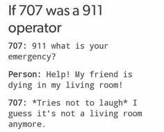 Mystic Messenger: 707 (meu deus que trocadilho lol)