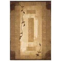 Shop allen + roth Holder Rectangular Cream Block Tufted Area Rug (Common: 8-ft x 10-ft; Actual: 7.833-ft x 10.083-ft) at Lowes.com