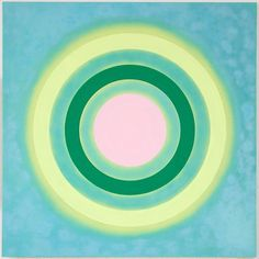 Mysteries: Aglow, 2002 by Kenneth Noland on Curiator, the world's biggest collaborative art collection. Circle Painting, Action Painting, Cady Noland, Abstract Expressionism, Abstract Art, Morris Louis, Kenneth Noland, Black Mountain College, Robert Rauschenberg