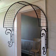 Iron Wall Mount Arch