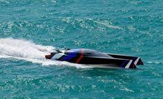 Team Great Britain wave-piercing powerboat (4)