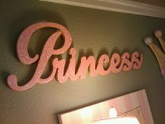 Perfect for the princess room :)