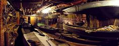 A SECRET MUSEUM OF ANCIENT BOATS IN #VENICE: In Venice there is a yet exceptional museum, scarcely known and thus almost a secret, which contains unique old Venetian boats. The world of traditional Venetian boats is a common cultural heritage which would have disappeared were it not for the proud Venetian association 'Arzanà'... http://en.venezia.net/21/10/2013/arzana-secret-museum-of-venetian-boat.html