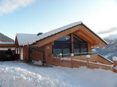 Snow-filled Carport at Appartement Smaragd | Alpenchalet am Wildkogel | Bramberg am Wildkogel | Austria