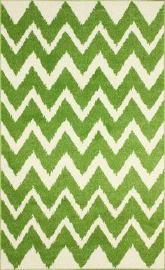 Rugs USA Babylon Chevron SG11 Green Rug  LOVE< LOVE< LOVE  and hose it down?!?!?!!!!!