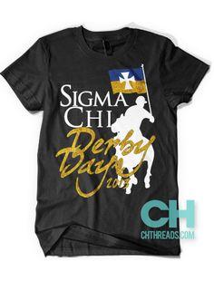 Sigma Chi Derby Days // chthreads.com #fraternity #derbydays #sigmachi