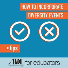 As schools begin to host different diversity events, here are some tips for students to ensure that they obtain the most out of the different diversity events at their school.