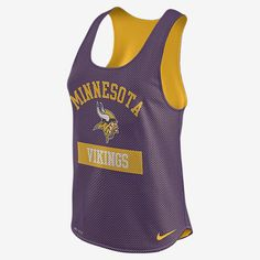 Nike Gear Up Mesh (NFL Vikings) Women's Tank Top