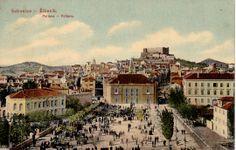Slike starog Šibenika (Poljana) / pictures of old Sibenik (Center field) / Sibenik historische Bilder (Zentralplatz)