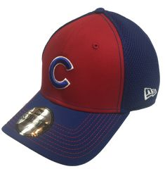 cf08f2b03ec Chicago Cubs Team Color Neo 39THIRTY Flex Fit Cap By New Era