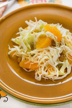 Crunchy Chinese Coleslaw (Weight Watchers)