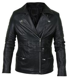Leather Skin Shop is the only online store that offers Real Genuine Leather Jackets for Women of all ages. Pick your favorite color be it, Red, Yellow, White or other and on your style game! Black Leather Blazer, Long Leather Coat, Leather Jacket With Hood, Leather Skin, Biker Leather, Leather Jackets, Motorcycle Leather, Biker Jackets, Real Leather