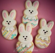 Easter Cookies, Sugar Cookies, Easter Biscuits, Easter Religious, Easter Recipes, Easter Ideas, Spring Party, Cut Out Cookies, Easter Bunny