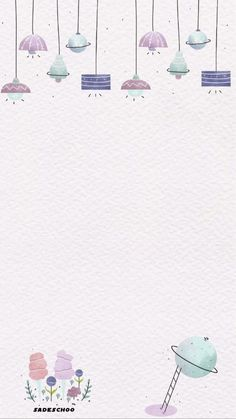 Blank Wallpaper, Iphone Wallpaper Quotes Love, Flower Background Wallpaper, Cute Wallpaper For Phone, Aesthetic Iphone Wallpaper, Cute Backgrounds, Cute Wallpapers, Wallpaper Backgrounds, Bullet Journal Banner