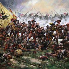 Military Art, Military History, Warhammer Empire, Warhammer Fantasy Roleplay, Thirty Years' War, Early Modern Period, Holy Roman Empire, Landsknecht, Renaissance Era