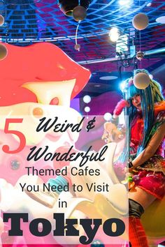 We had some weird and wonderful dining experiences during our trip to Tokyo. Check out our 5 favourite themed cafes in Tokyo | Ravenous Travellers Travel Blog