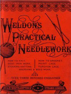 """Weldon's Practical Torchon Lace"" in Weldon's Practical Needlework, Weldon & Co., 12 pages."