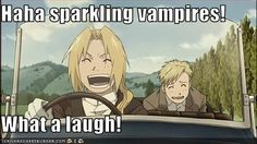 Said Edward Elric. The Alchemist who could literally tear a person apart molecule by molecule.