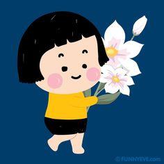 Take a snap 📷📱 shared by HoàiLinh on We Heart It Mim Mobile Girl, Mobiles, Cute Love Memes, All Things Cute, Kawaii Wallpaper, Cute Chibi, Little My, Cute Cartoon, Smiley