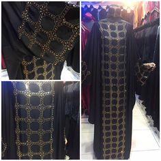 No photo description available. Abaya Fashion, Fashion Wear, Ornaments Image, Mode Abaya, Abayas, Kaftan, Kimono Top, Product Description, Couture