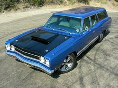 1968 Plymouth GTX 440 Six Pack Wagon