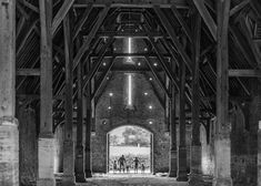 Family photography on location at Great Coxwell Barn, Oxfordshire. Black And White Portraits, Family Photography, Barn, Tower, Building, Travel, Voyage, Lathe, Buildings
