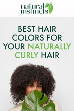 Got curly hair and want great colour? Try Natural Instincts! The colour gradually fades, leaving no harsh root lines 🌴#Clairol #NaturalInstincts #VeganHair #HairColour #CoconutOil #HairGoals #curlyhairstyles At Home Hair Color, Cool Hair Color, Caramel Hair Highlights, Ammonia Free Hair Color, Clairol Hair Color, Beige Blonde Hair, Clairol Natural Instincts, Light Red Hair, Silky Smooth Hair