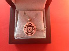 Gray family crest pendant