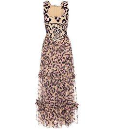 386bf4cdb4 Givenchy Leopard-print silk dress