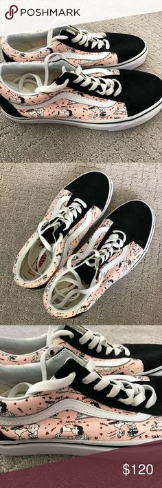 a2841692684f limited edition vans X peanuts 2017 collection limited edition vans X  peanuts 2017 collection not sold anymore never worn didn t even try them on  men s size ...