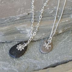 Jewelry Tutorial: Pebbles in the River Sterling Necklace   Jewelry Ideas   Rings & Things
