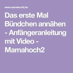 Das erste Mal Bündchen annähen - Anfängeranleitung mit Video - Mamahoch2