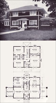 1923 Standard Homes Company - The Arden. Very similar floor plan to ours.-CL