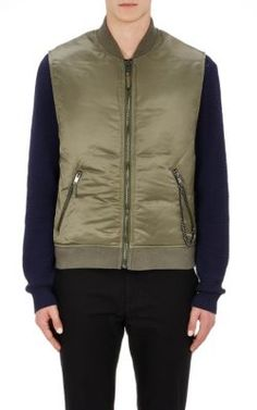 MARC BY MARC JACOBS Chain-Embellished Puffer Vest. #marcbymarcjacobs #cloth #vest