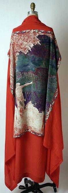 Issey Miyake (Japanese, born 1938) | Design House: Miyake Design Studio | Date: spring/summer 1977 | Culture: Japanese | Medium: silk